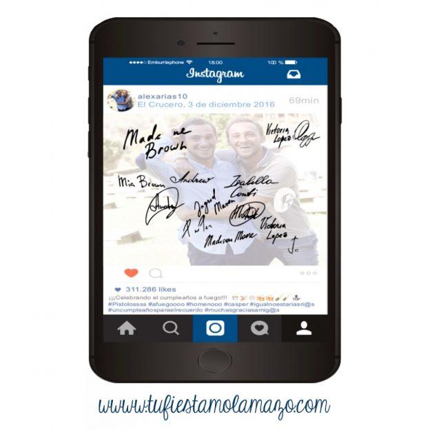 El mejor recuerdo, ¡una tarjeta para estampar firmas y dedicatorias!